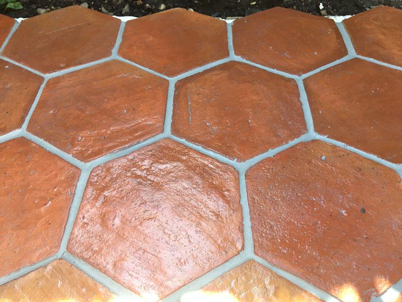 Handmade Terracotta Tiling